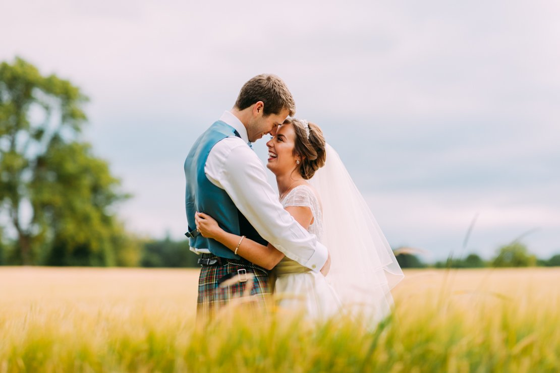 Relaxed Perthshire Wedding